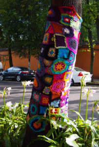 La Calabaza Yarn Tree Coyoacan, Mexico City