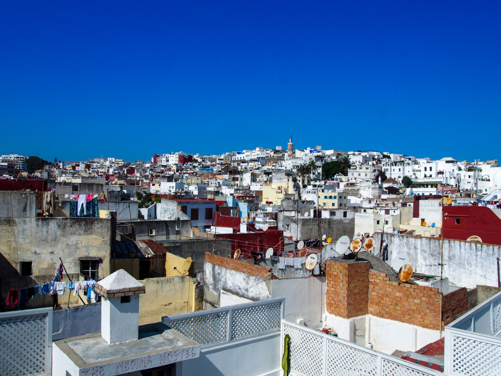 Tangier, Morocco City Skyline