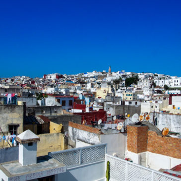 Stepping Into A Labyrinth Of Languages In Tangier, Morocco
