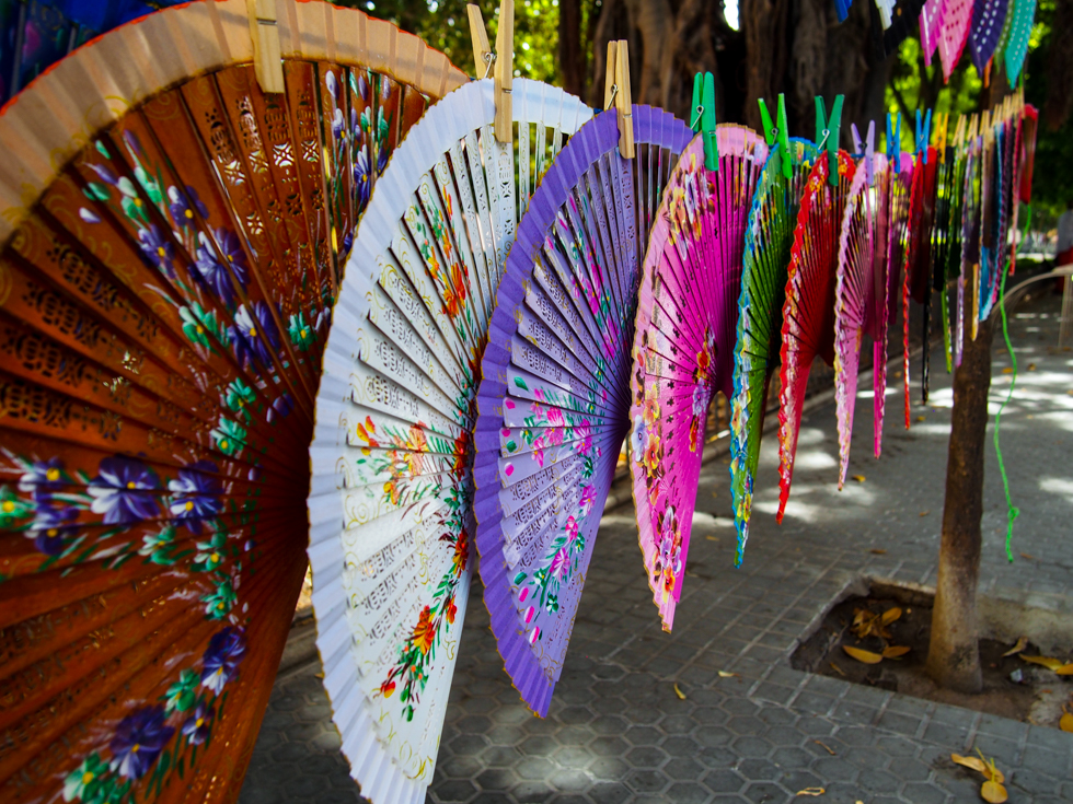 Fans (Abanicos) in Seville, Spain