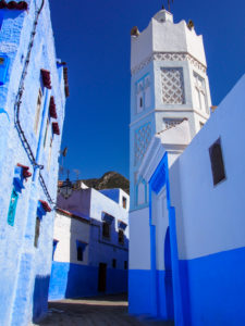 Chefchaouen, Morocco Mosque