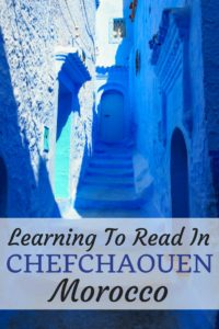Learning To Read In Chefchaouen, Morocco